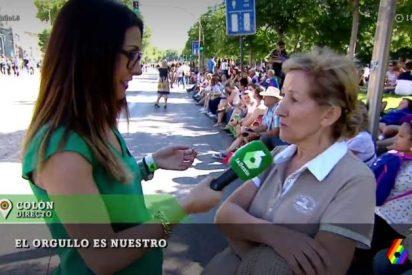 Patinazo en La Sexta con el testimonio de una señora en la transmisión del Orgullo Gay