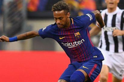 Florentino Pérez deja a Neymar tocado, y hundido, en el Real Madrid con un 'off the record'