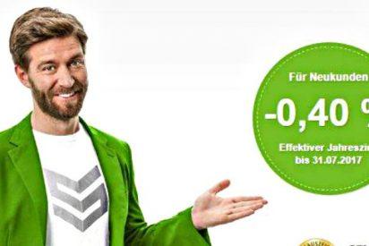 Los bancos alemanes empiezan a pagar a sus clientes por pedir préstamos