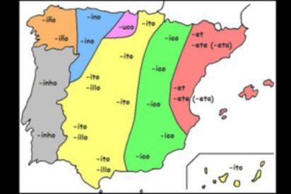 El mapa de los diminutivos: estas son las verdaderas regiones de España