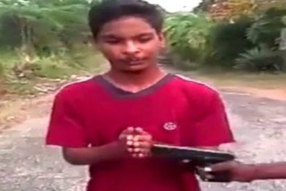 """El despiadado castigo al chico venezolano que roba """"por necesidad"""""""