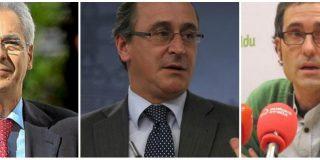 Alfonso Alonso (PP) y Carlos Totorika (PSOE) le sacan las vergüenzas al parlamentario de Bildu que acudió al homenaje de Miguel Ángel Blanco en Ermua