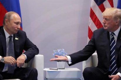 Lenguaje corporal: ¿Sabes qué quiso decir Trump a Putin con sus apretones de manos?