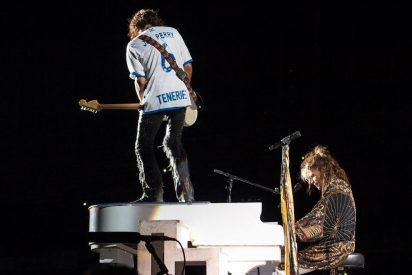 """El """"meteorito"""" Aerosmith impacta en Santa Cruz de Tenerife"""