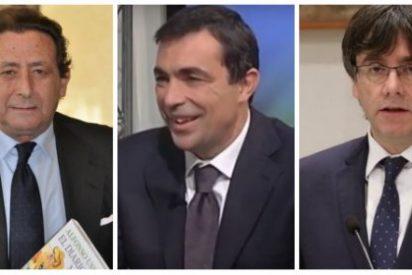 """Alfonso Ussía apalea al nuevo 'mamporrero' de Puigdemont: """"Es un asno de aldea, un paleto y un gentuza"""""""