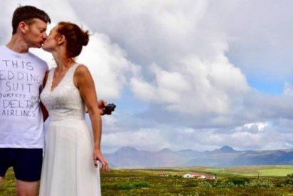 La feroz venganza del novio contra la compañía aérea que perdó su maleta con su traje de boda