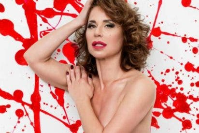 Vicky Larraz muy sexy