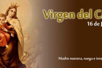 La Virgen del Carmen y los militares venezolanos