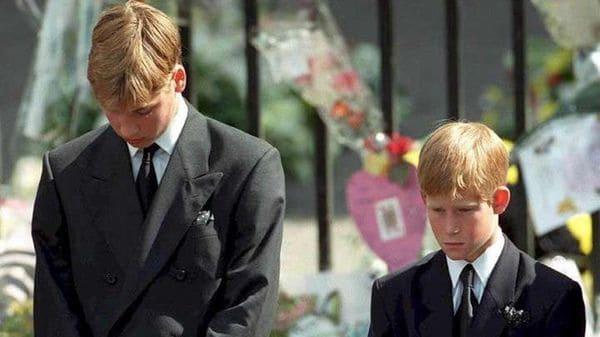 El remordimiento de los príncipes William y Harry por la última llamada de Lady Di