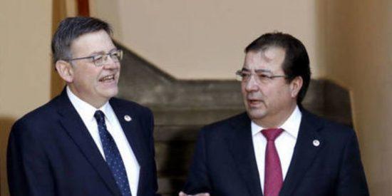 Ximo Puig y Guillermo Fernández Vara desbaratan la ofensiva de Pedro Sánchez