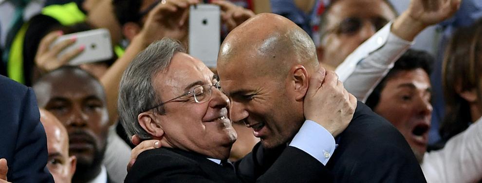 El último fichaje que Zidane pide a Florentino Pérez para la gira del Real Madrid por Estados Unidos
