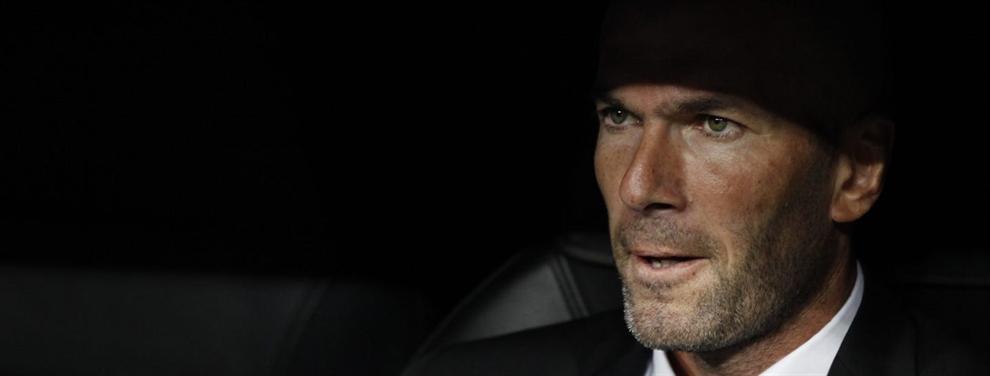Zidane mete miedo al Barça con el 'plan b' al fichaje de Mbappé
