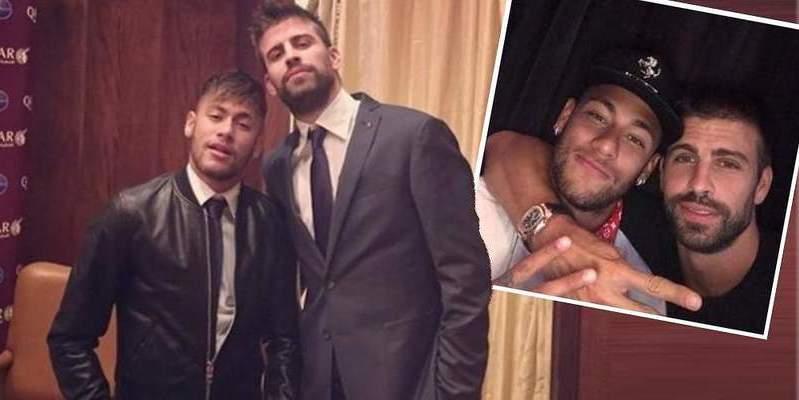 Neymar se llevó de juerga a Piqué y le engañó como a un chino