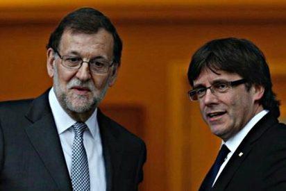 Puigdemont provoca a Rajoy la víspera de la manifestación 'unitaria' de Barcelona