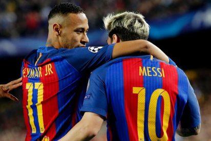 ¡Muy feo! La puñalada de Neymar a Messi por la espalda