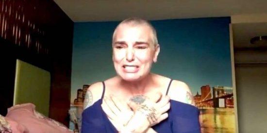 [VÍDEO] El desgarrador video en el que Sinead O'Connor dice estar al borde del suicidio