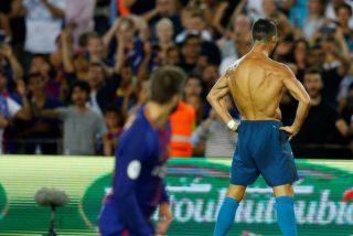 Por culpa del inepto del árbitro a Cristiano Ronaldo le pueden caer 12 partidos de suspensión