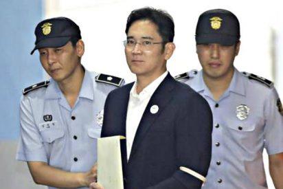 El heredero del Imperio Samsung, condenado a 5 años de cárcel por corrupción