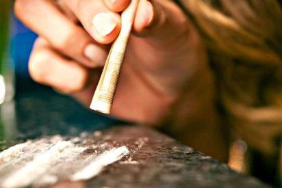 ¡Así se hace adicto nuestro cerebro si consumimos cocaína!