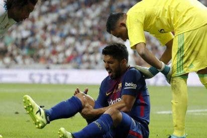 La depresión del Barça: la lesión de Suárez ahonda el pesimismo del club azulgrana