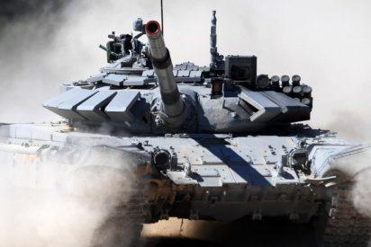 [VÍDEO] Así resistió un tanque ruso T-72M1 en Siria el impacto de un misil antitanque estadounidense