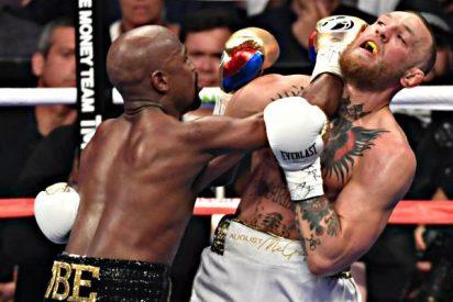 Floyd Mayweather gana por KOT en el décimo asalto a Conor McGregor