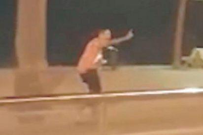 [VÍDEO] Así acribilló la policía al quinto terrorista islámico de Cambrils