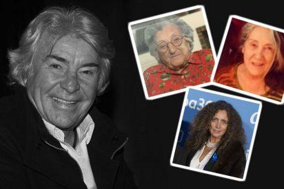Las tres mujeres que lloran la muerte de Ángel Nieto
