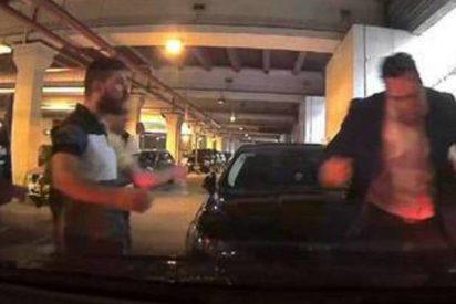 Taxistas de Málaga agreden en masa al presidente de la patronal de Uber y Cabify