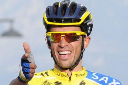 Contador ataca, recorta tiempo aprovechando la caída de Froome y da vida a La Vuelta