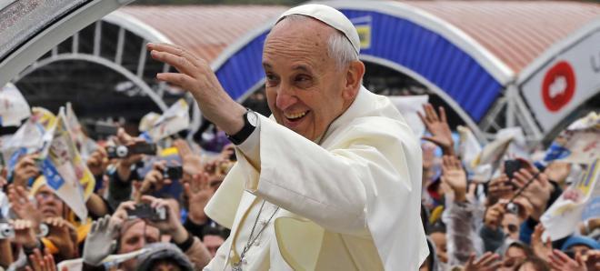 """El Papa anima a los jóvenes brasileños a ser """"protagonistas de una cultura de alianza"""""""