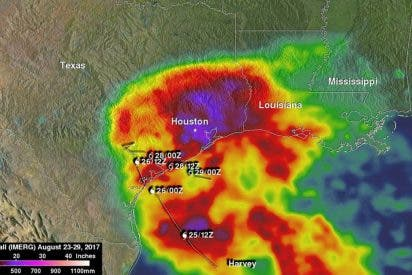 [VÍDEO] Las lluvias del Huracán Harvey baten fatales récords en Texas