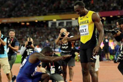 Justin Gatlin destrona a Usain Bolt en los Mundiales de Londres