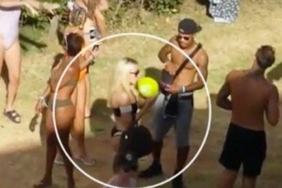 """[VÍDEO] Turismo de borrachera en Ibiza: """"Gente duchándose en los balcones y masturbándose"""""""