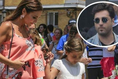 Paula Echevarría y David Bustamante, otra vez juntos pero sólo por su hija Daniella