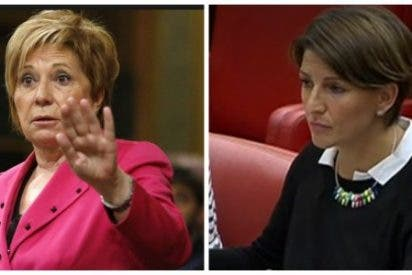 """Celia Villalobos le para los pies a una podemita de En Marea: """"Menos mal que estáis vosotros"""""""