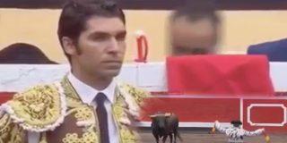 [VÍDEO] Cayetano Rivera, con un par