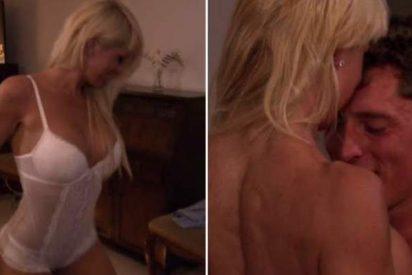 La cita más cachonda de 'Contigo al fin del mundo' termina en striptease y sexo
