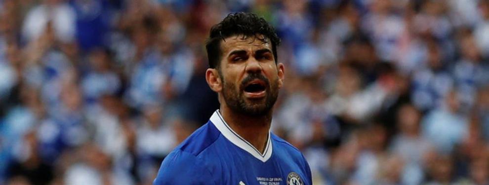 """Diego Costa: """"Quiero ir al Atlético; el Chelsea me ha tratado como un criminal"""""""