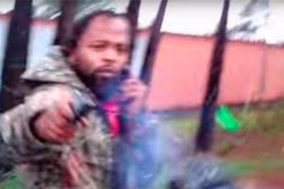 [VÍDEO] ¡Terrible! Así disparó este delincuente a un policía