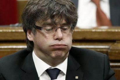 Al triste Puigdemont no le hacen ni puñetero caso en Europa
