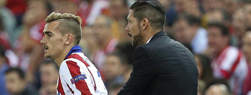 El aviso de Griezmann a Simeone que aterra a la plantilla del Atlético de Madrid