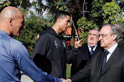 El cara a cara de Zidane con Florentino Pérez en por un fichaje galáctico para el Real Madrid