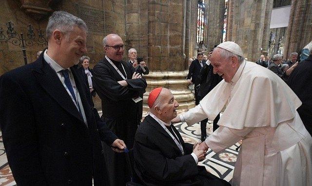 """El Papa recuerda a Tettamanzi con """"afecto"""" y """"gratitud"""""""