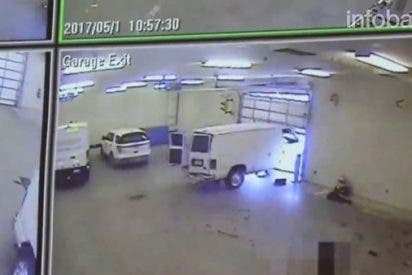 [VÍDEO] Así mató a un guardia y escapó de la cárcel este preso