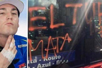 """El valiente piloto de MotoGP que dice las cosas por su nombre a los vándalos de la CUP: """"¡A la cárcel tendríais que ir, panda de vagos!"""""""