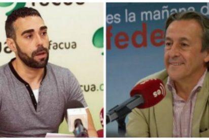 """Hermann Tertsch le pinta la jeta al 'Facuo' y """"trincón"""" podemita Rubén Sánchez"""