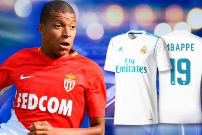 El nuevo fichaje 'Galáctico' del Real Madrid ya tiene dorsal (y Florentino Pérez aprieta el pulso)