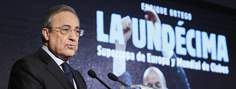 Florentino Pérez activa un fichaje bomba en el Barça-Real Madrid