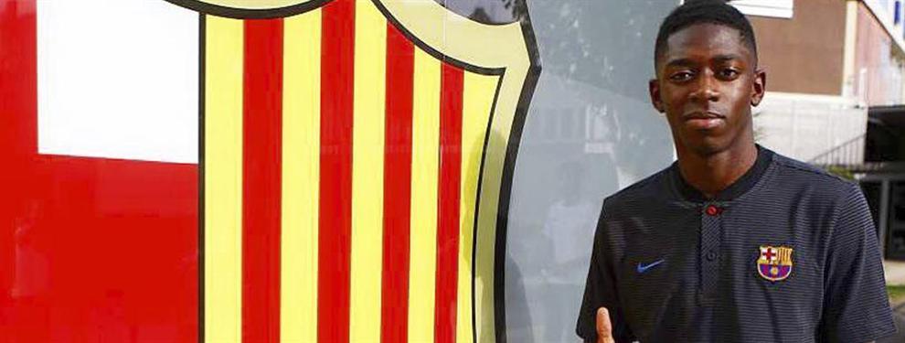 Florentino Pérez saca los colores a Dembélé con un chivatazo que el Barça tapa